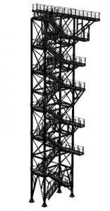 металлические платформы для технологического обслуживания оборудования