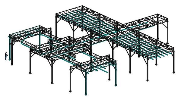 металлическая конструкция для сварочного оборудования