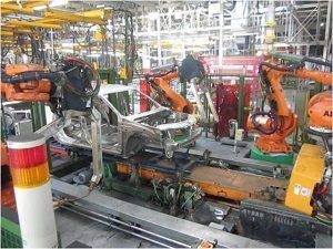 Линия роботизированной доварки 5-ти типов кузовов