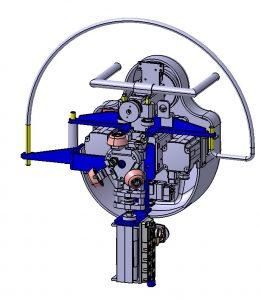 автоматические вальцовочные машинки задних арок колес